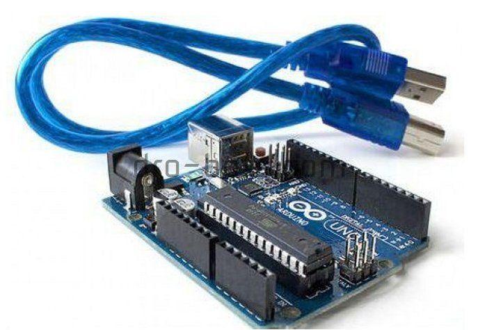 Arduino UNO R3 ATmega328P con cable USB