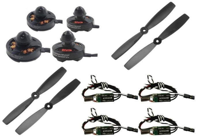 Kit para dron/quadcopter de carrera