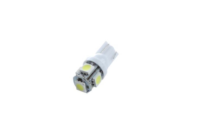 Led color blanco T10 5050 SMD/SMT 12V