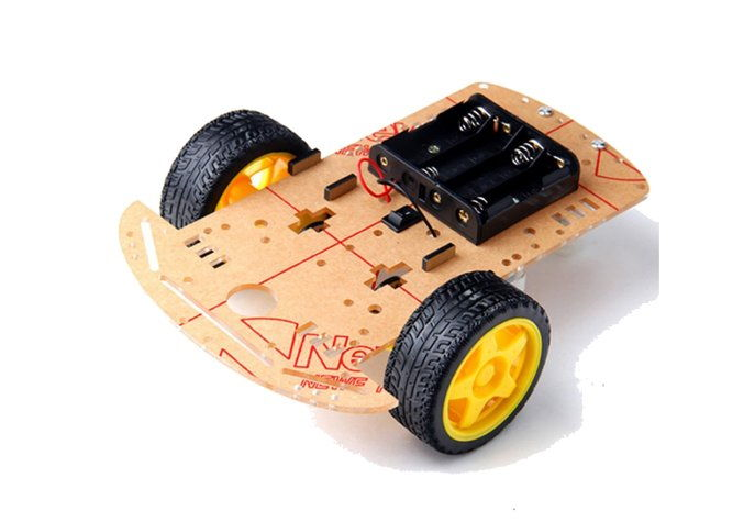 Kit Robot Smart Car Chassis 2 ruedas
